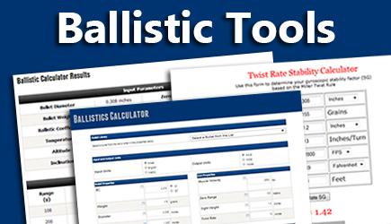 Bryan Litz's Ballistic Tools