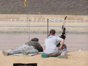 Prone match at 600 yards