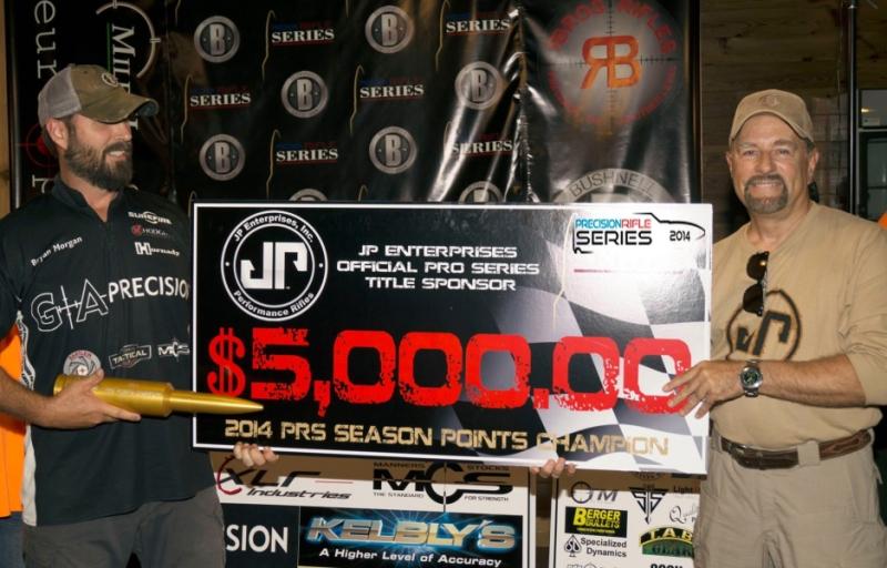 Bryan Morgan, PRS Season Points Champion