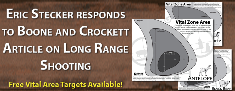 Eric Stecker responds to Boon and Crockett Article on Long Range Shooting