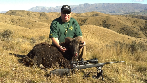 Eric Stecker Ram Hunting