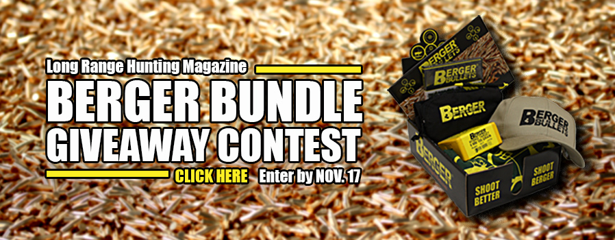 Long Range Hunter Giveaway Contest