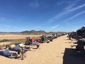 1000 yard firing line.